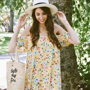 Beautiful Floral Sundress x Adorn